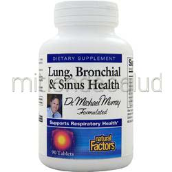 Lung, Bronchial & Sinus Health 90 tabs NATURAL FACTORS