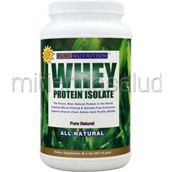 Pure Nutrition - Whey Protein Isolate All Natural Pure Natural 2 lbs BIOPLEX NUTRITION