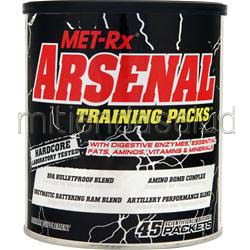 Arsenal Training Packs 45 pckts MET-RX