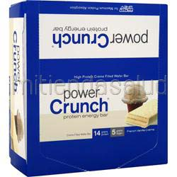 Power Crunch Wafers French Vanilla Creme 12 bars POWER CRUNCH