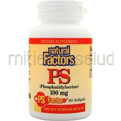 PS 100mg 60 sgels NATURAL FACTORS