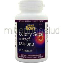 Celery Seed Extract 60 caps NATURAL FACTORS