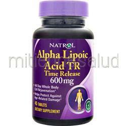Alpha Lipoic Acid Time Release 600mg 45 tabs NATROL