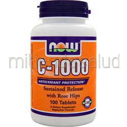 C-1000 Sustained Released with Rose Hips 100 tabs NOW