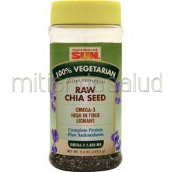 Raw Chia Seed 9 5 oz HEALTH FROM THE SUN