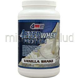 4Ever Whey Protein Vanilla Shake 1 8 lbs 4 EVER FIT