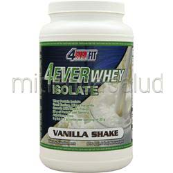 4Ever Whey Isolate Vanilla Shake 1 8 lbs 4 EVER FIT