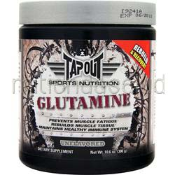 Glutamine Unflavored 10 6 oz TAPOUT