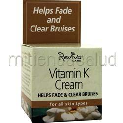 Vitamin K Cream for All Skin Types 1 5 oz REVIVA LABS