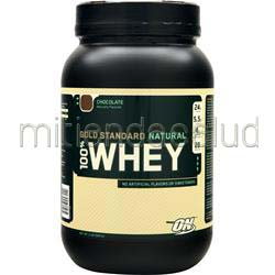 100% Whey Protein - Gold Standard Natural Chocolate 2 lbs OPTIMUM NUTRITION