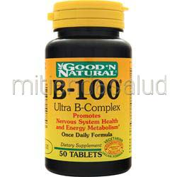 B-100 Ultra B-Complex 50 tabs GOOD 'N NATURAL