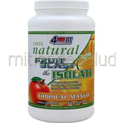 100% Natural Fruit Blast the Isolate Tropical Mango 2 lbs 4 EVER FIT