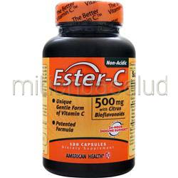 Ester-C with Citrus Bioflavonoids 500mg 120 caps AMERICAN HEALTH