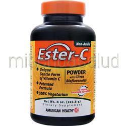 Ester-C with Citrus Bioflavonoids powder 8 oz AMERICAN HEALTH
