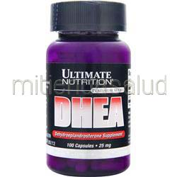 DHEA 25mg 100 caps ULTIMATE NUTRITION