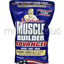 Muscle Builder Advanced Creamy Vanilla 2 lbs WEIDER
