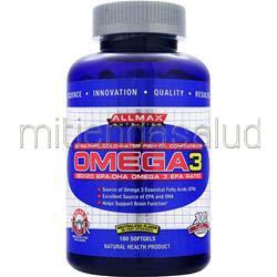 Omega3 180 sgels ALLMAX NUTRITION