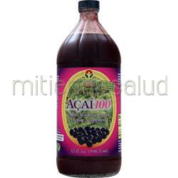 Acai100 Liquid 32 fl oz GENESIS TODAY