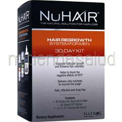 Hair Regrowth System For Men 1 kit NU HAIR