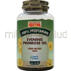 100% Vegetarian Evening Primrose Oil 90 sgels HEALTH FROM THE SUN
