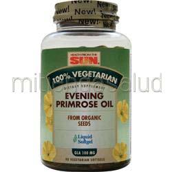 100% Vegetarian Evening Primrose Oil 90 sgels HEALTH FROM THE SUN
