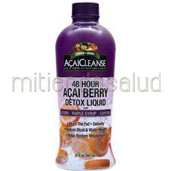 AcaiCleanse - 48 Hour Acai Berry Detox Liquid 32 fl oz GARDEN GREENS