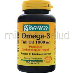 Omega-3 1000mg 100 sgels GOOD 'N NATURAL