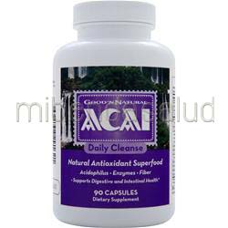 Acai Daily Cleanse 90 caps GOOD 'N NATURAL