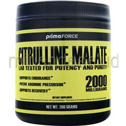 Citrulline Malate 200 gr PRIMAFORCE
