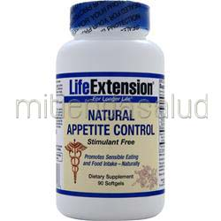 Natural Appetite Control Stimulant Free 90 sgels LIFE EXTENSION