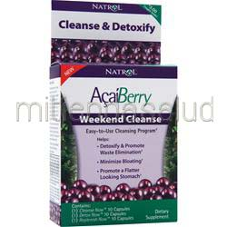 AcaiBerry Weekend Cleanse 30 caps NATROL