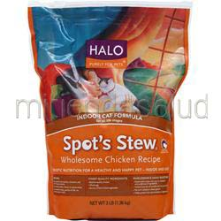 Spot's Stew - Indoor Cat Formula Wholesome Chicken Recipe 3 lbs HALO
