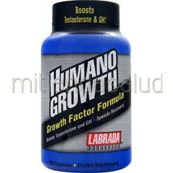 Humano Growth 120 caps LABRADA