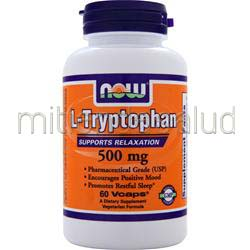 L-Tryptophan 500mg 60 caps NOW