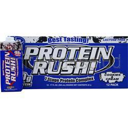 Protein Rush RTD Cookies and Cream 12 cans VPX SPORTS