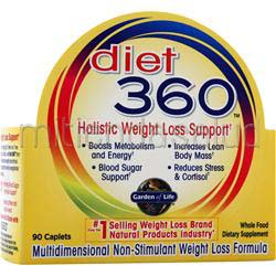 Diet 360 90 caps GARDEN OF LIFE