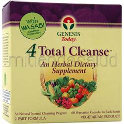 4Total Cleanse 1 kit GENESIS TODAY