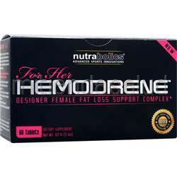 Hemodrene for Her 60 tabs NUTRABOLICS