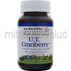 Fresh Freeze-Dried U T  Cranberry 90 caps ECLECTIC INSTITUTE