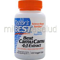 Best Camu Camu - 4:1 Extract 120 caps DOCTOR'S BEST