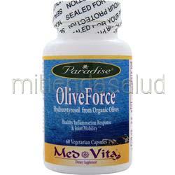 Med-Vita OliveForce 60 caps PARADISE HERBS