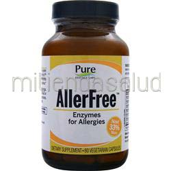 AllerFree - Enzymes for Allergies 60 caps PURE ESSENCE LABS