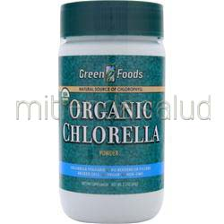 Organic Chlorella Powder 2 1 oz GREEN FOODS