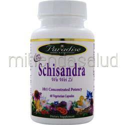 Schisandra 60 caps PARADISE HERBS