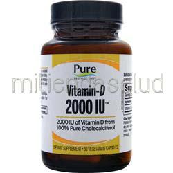 Vitamin-D 2000IU 30 caps PURE ESSENCE LABS