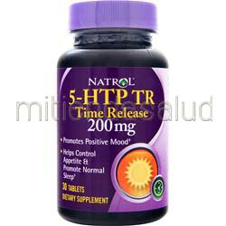 5-HTP TR - Time Release 200mg 30 tabs NATROL