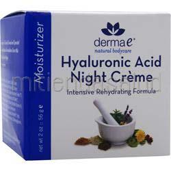Hylauronic Acid Night Creme 2 oz DERMA-E