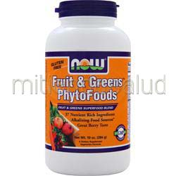 Fruit & Greens Phytofoods 10 oz NOW