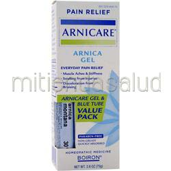 Pain Relief - Arnicare Arnica Gel Value Pack 2 6 oz BOIRON