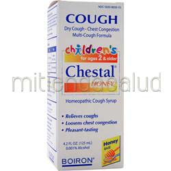Cough - Children's Chestal 4 2 fl oz BOIRON